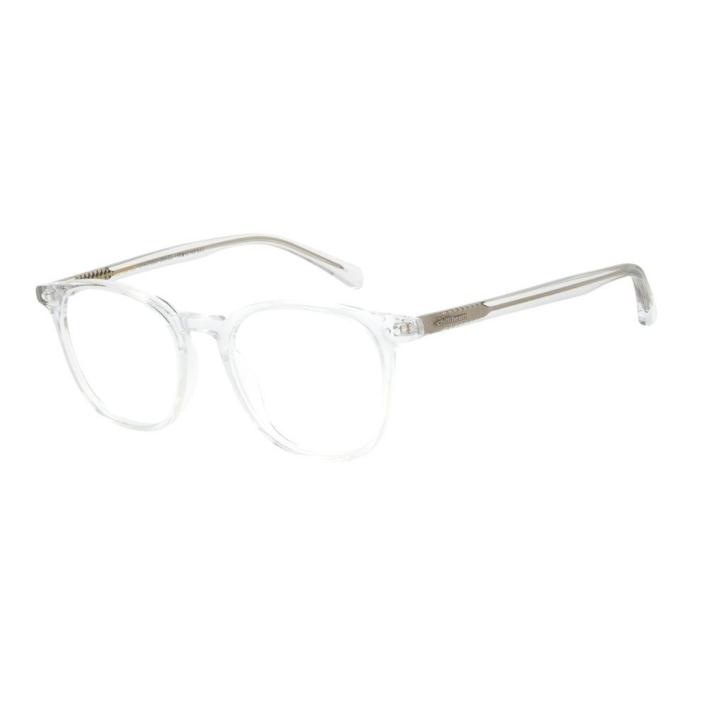 Armação Para Óculos de Grau Unissex Chilli Beans Casual Acetato Redondo Transparente LV.AC.0638-3636