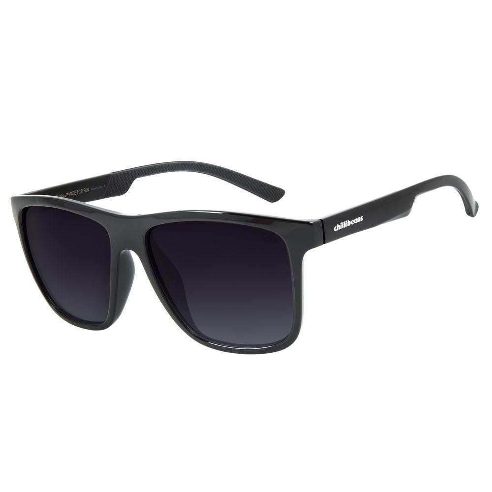 Óculos de Sol Masculino Chilli Beans New Sport Polarizado Degradê OC.ES.1230-2001