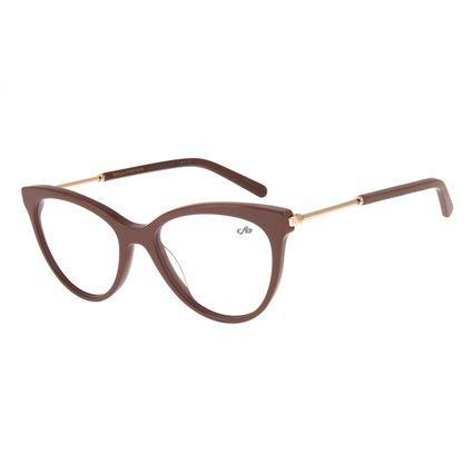 Armação Para Óculos de Grau Feminino Lady Like Gatinho Rosa LV.MU.0226-2013.2