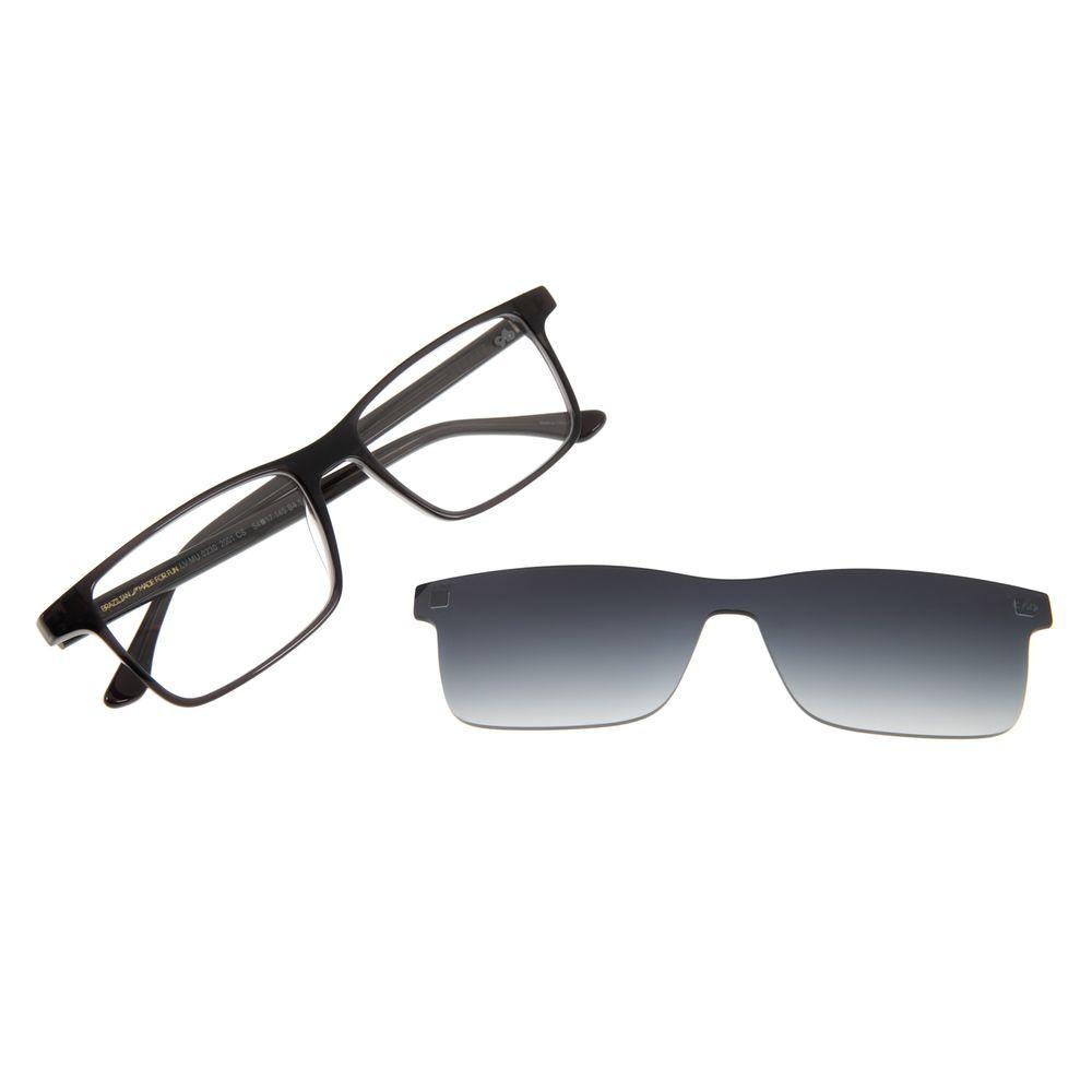 Armação Para Óculos de Grau Masculino Chilli Beans Multi Retangular Degradê LV.MU.0230-2001