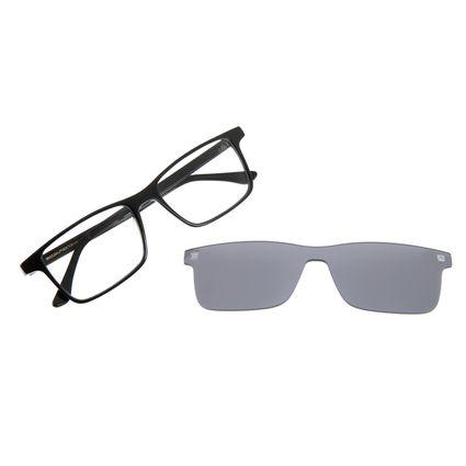 Armação Para Óculos de Grau Masculino Chilli Beans Multi Retangular Espelhado LV.MU.0230-3201