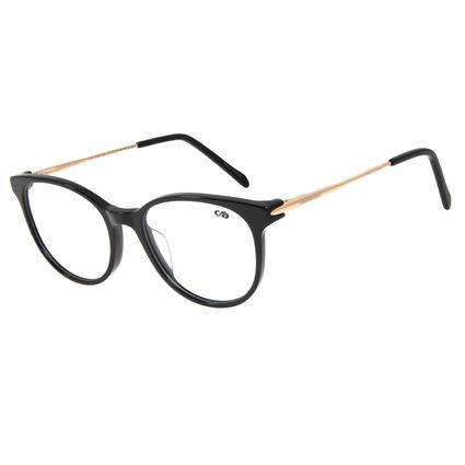 Armação Para Óculos de Grau Feminino Chilli Beans Redondo Dourado LV.AC.0598-0121
