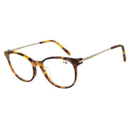Armação Para Óculos de Grau Feminino Chilli Beans Redondo Tartaruga  LV.AC.0598-0621