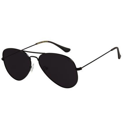 Óculos de Sol Unissex Chilli Beans Aviador Preto Polarizado OC.MT.2419-0101