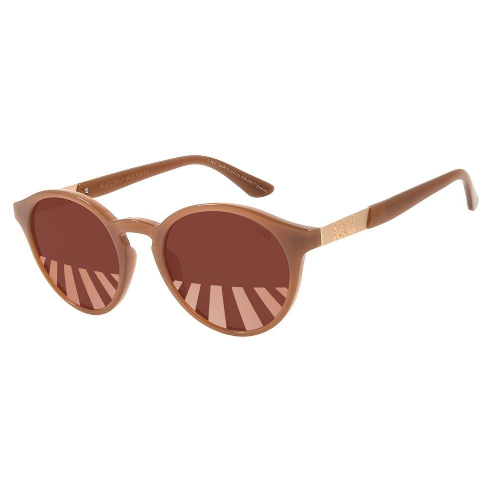 Óculos de Sol Unissex The Beatles Abbey Road Redondo Marrom OC.CL.3108-0202