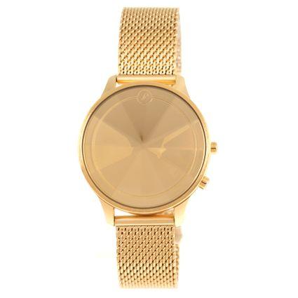 Relógio Digital Feminino Chilli Beans Diamante Dourado RE.MT.1062-2121