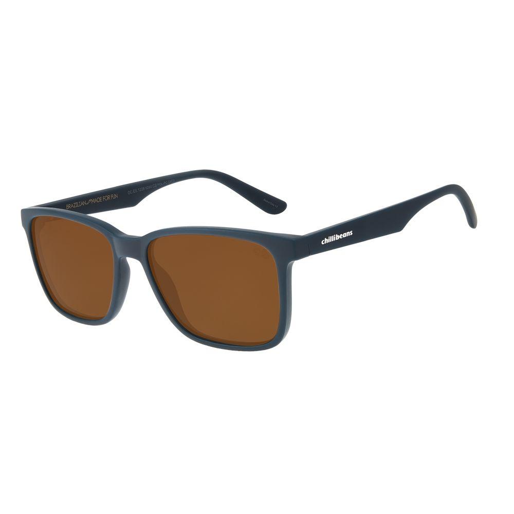 Óculos de Sol Masculino Chilli Beans New Sport Azul Escuro OC.ES.1228-0290