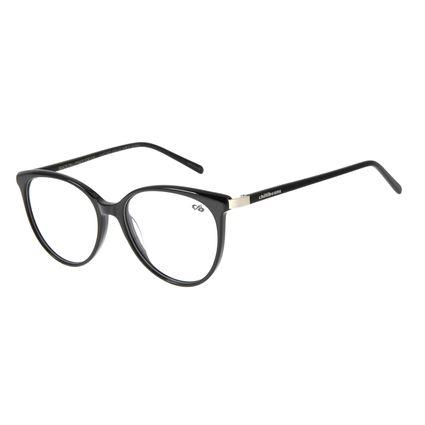 Armação Para Óculos de Grau Feminino Chilli Beans Redondo Preto LV.AC.0622-0101