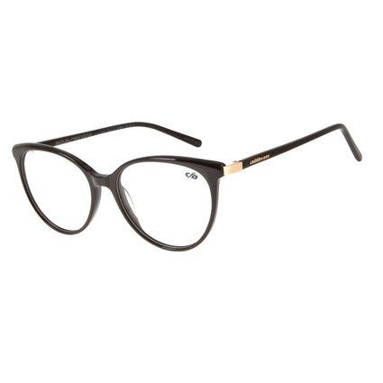 Armação Para Óculos de Grau Feminino Chilli Beans Redondo Marrom LV.AC.0622-0202