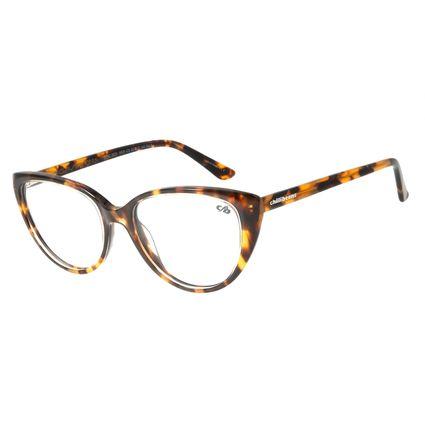 Armação Para Óculos de Grau Feminino Chilli Beans Gatinho Tartaruga LV.AC.0623-0606