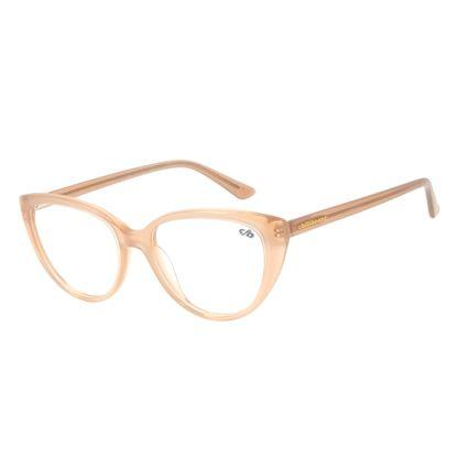 Armação Para Óculos de Grau Feminino Chilli Beans Gatinho Bege LV.AC.0623-2323