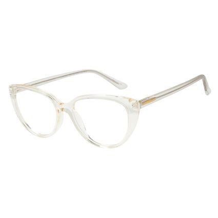 Armação Para Óculos de Grau Feminino Chilli Beans Gatinho Transparente LV.AC.0623-3636