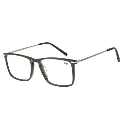 Armação para Óculos de Grau Masculino Chilli Beans Retangular Marrom LV.AC.0630-0222
