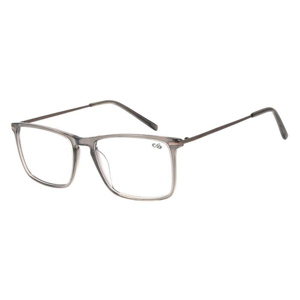 Armação para Óculos de Grau Masculino Chilli Beans Retangular Cinza LV.AC.0630-0422