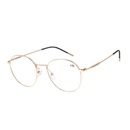 Armação para Óculos de Grau Feminino Chilli Beans Redondo Rose LV.MT.0399-9595