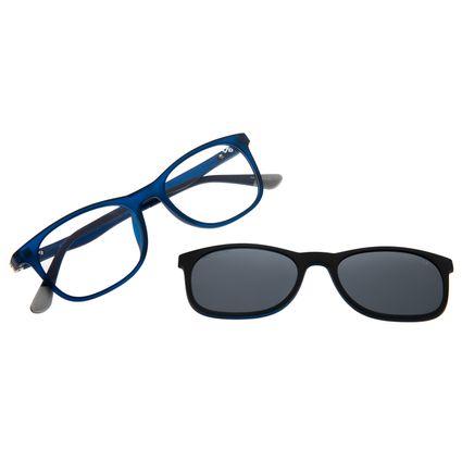 Armação Para Óculos de Grau Masculino Chilli Beans Multi Azul Polarizado LV.MU.0336-0108