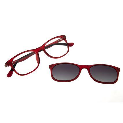 Armação Para Óculos de Grau Masculino Chilli Beans Multi Vermelho Polarizado LV.MU.0336-2016