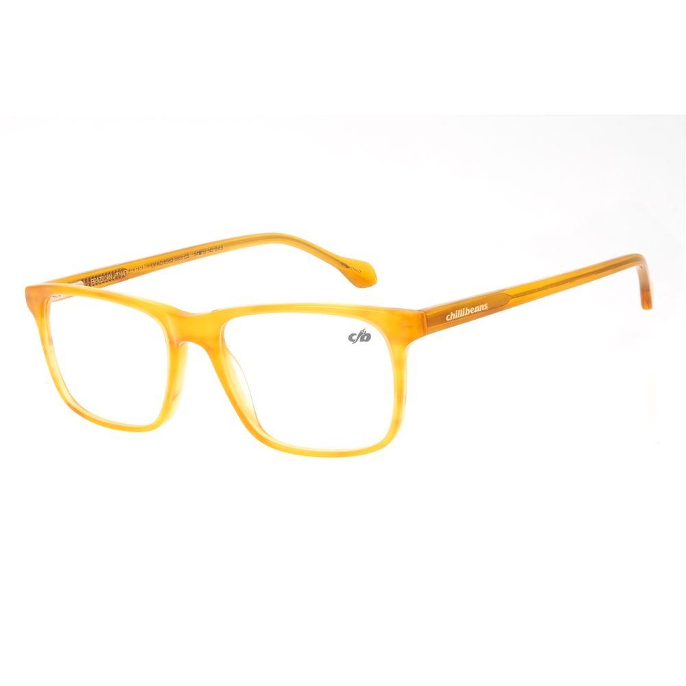 Armação Para Óculos de Grau Masculino Chilli Beans Bossa Nova Caramelo LV.AC.0563-0303