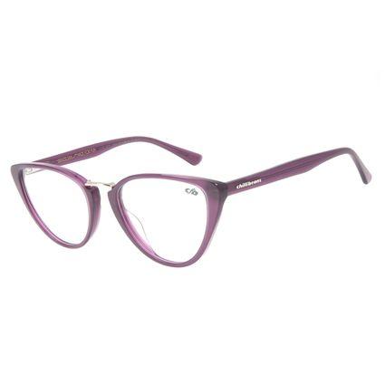 Armação Para Óculos de Grau Feminino Chilli Beans Gatinho Roxo LV.AC.0611-1414