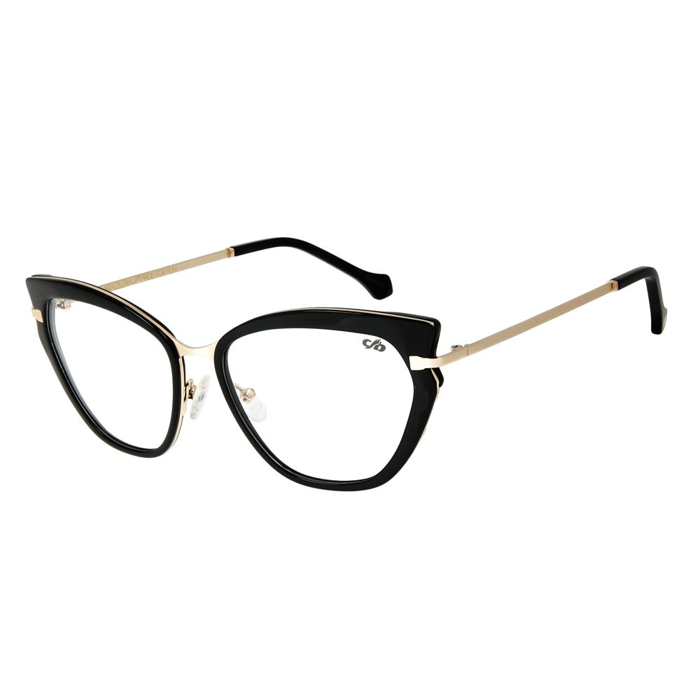 Armação para Óculos de Grau Chilli Beans Gatinho Dourado Claro LV.AC.0617-0164