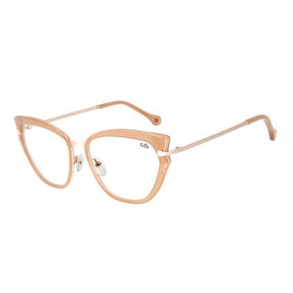 Armação para Óculos de Grau Chilli Beans Gatinho Rosé LV.AC.0617-9595