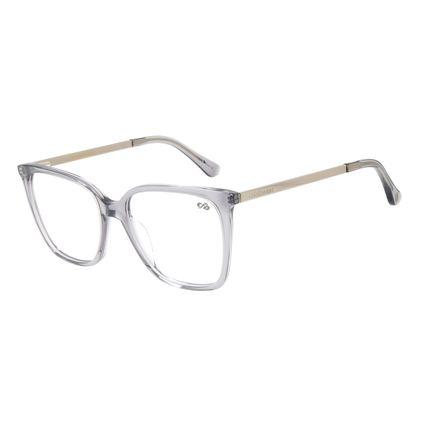 Armação para Óculos de Grau Chilli Beans Feminino Quadrado Cinza LV.AC.0633-0404