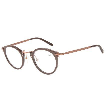 Armação para Óculos de Grau Chilli Beans Feminino Redondo Cobre LV.AC.0637-0239