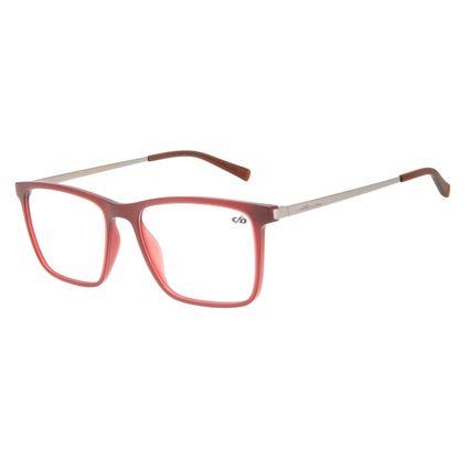 Armação para Óculos de Grau Chilli Beans Masculino Quadrado Grafite LV.IJ.0126-1624