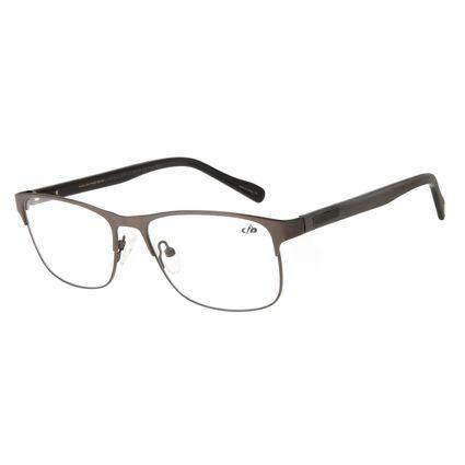 Armação Para Óculos de Grau Unissex Chilli Beans Quadrado Wood Marrom LV.MT.0415-2202
