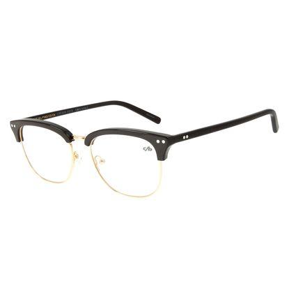Armação Para Óculos de Grau Unissex Chilli Beans Jazz Marrom LV.MT.0418-2102