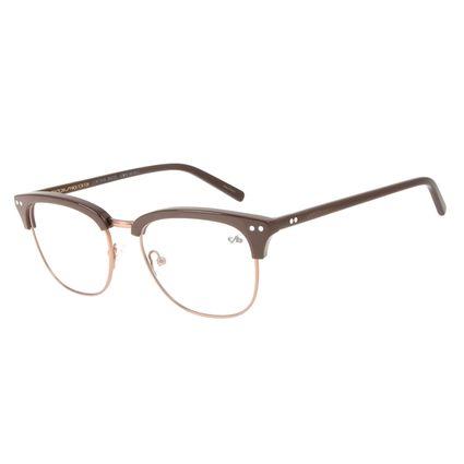 Armação Para Óculos de Grau Unissex Chilli Beans Jazz Cobre LV.MT.0418-3902