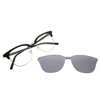 Armação Para Óculos de Grau Masculino Chilli Beans Multi Metal Preto LV.MU.0337-0401