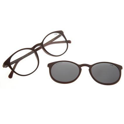 Armação Para Óculos De Grau Unissex Chilli Beans Essential Multi Vinho Brilho Polarizado   LV.MU.0406-0517