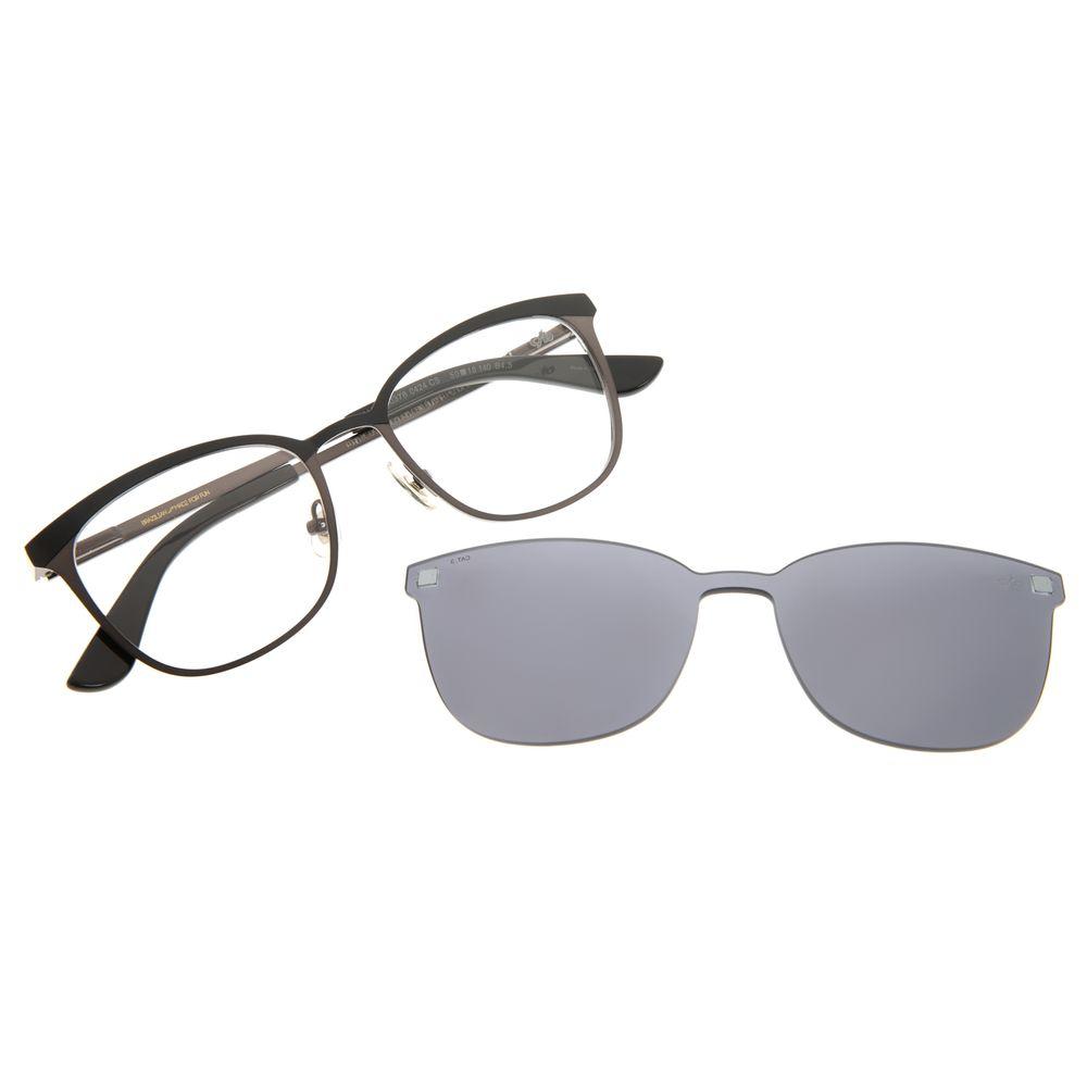 Armação Para Óculos De Grau Unissex Chilli Beans Multi Grafite Fosco LV.MU.0378-0424