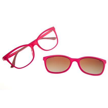 Armação Para Óculos De Grau Feminino Chilli Beans Multi Cat Rosa Polarizado LV.MU.0446-5713
