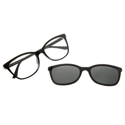 Armação Para Óculos De Grau Feminino Chilli Beans Multi Cat Polarizado LV.MU.0446-0101