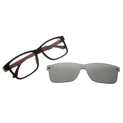 Armação Para Óculos de Grau Masculino Chilli Beans Multi Preto Polarizado LV.MU.0443-0101