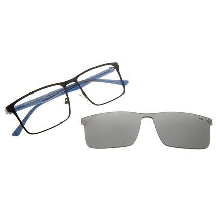 Armação Para Óculos de Grau Masculino Chilli Beans Multi Quadrado Preto LV.MU.0398-0101