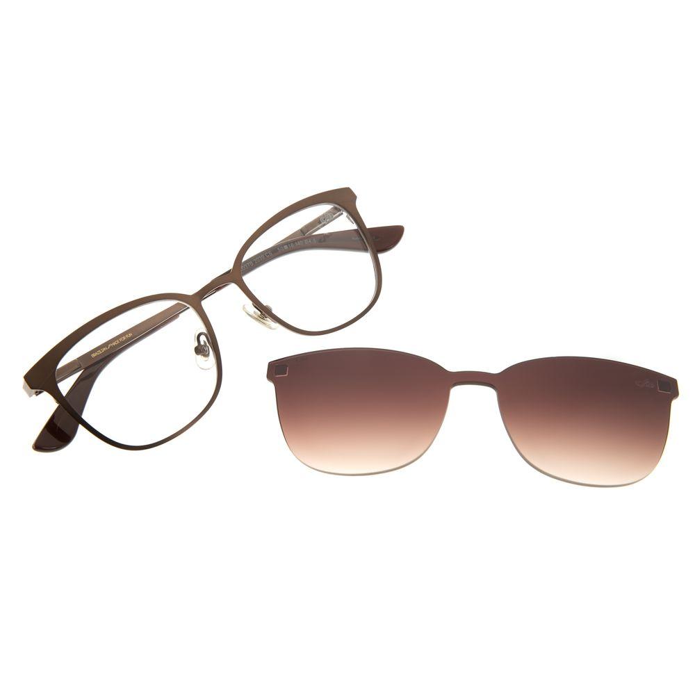 Armação Para Óculos De Grau Unissex Chilli Beans Multi Cobre Fosco LV.MU.0378-2039