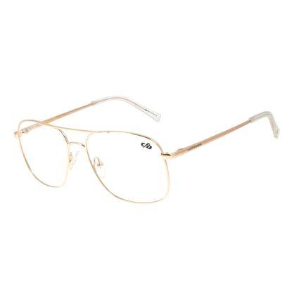 Armação Para Óculos de Grau Chilli Beans Quadrado Metal Rose LV.MT.0413-9595