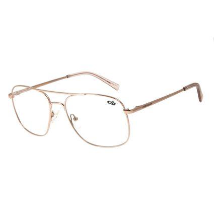 Armação Para Óculos de Grau Chilli Beans Quadrado Metal Bronze LV.MT.0413-7979