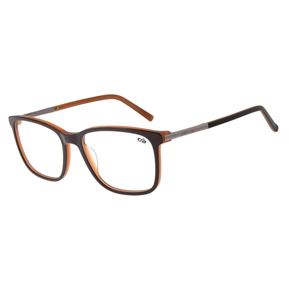 Armação Para Óculos de Grau Masculino Chilli Beans Quadrado Marrom LV.AC.0597-0224