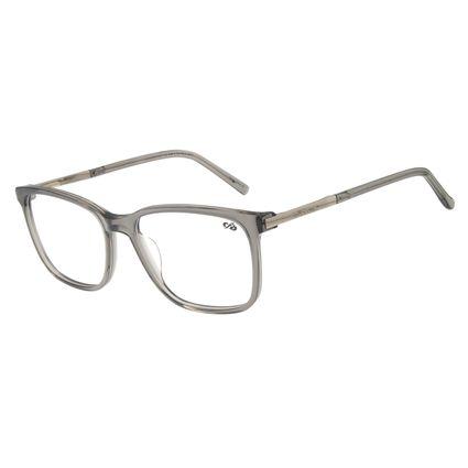 Armação Para Óculos de Grau Masculino Chilli Beans Quadrado Prata LV.AC.0597-0407