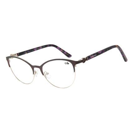 Armação Para Óculos de Grau Feminino Chilli Beans Gatinho Mesclado LV.MT.0385-1465