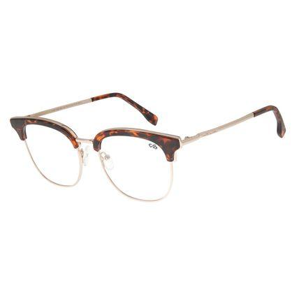 Armação Para Óculos de Grau Feminino Chilli Beans Jazz Dourado LV.MT.0388.0621
