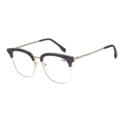 Armação Para Óculos de Grau Feminino Chilli Beans Jazz Prata LV.MT.0388.0807