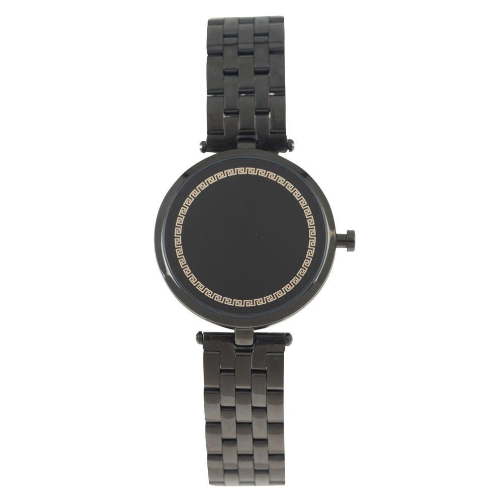 Relógio Analógico Feminino Mythos Metal Preto RE.MT.1023-0101