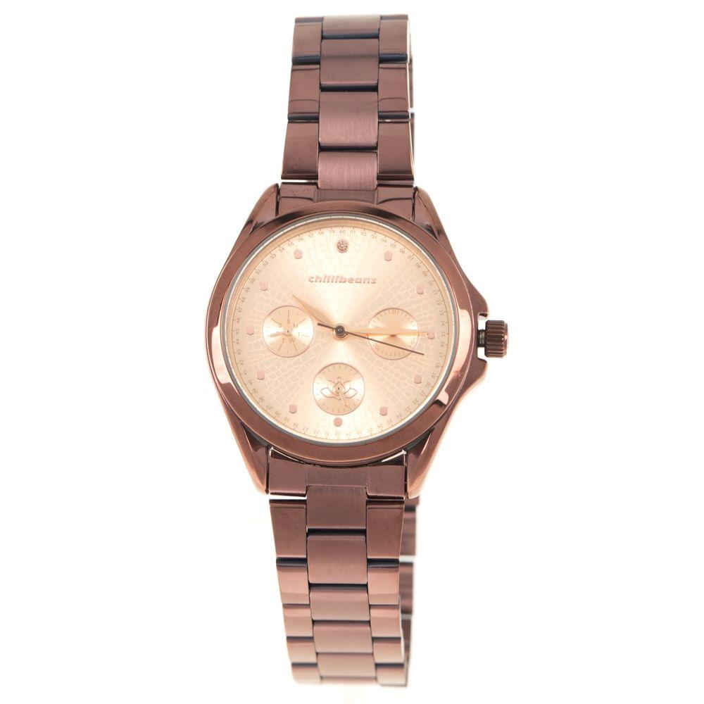 Relógio Analógico Feminino Mãe Natureza Marrom RE.MT.1063-9502