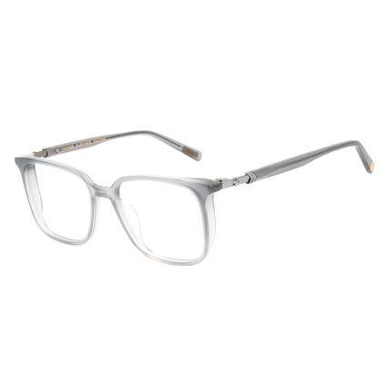 Armação Para Óculos de Grau Feminino Capitã Marvel Quadrado Prata LV.AC.0676-0195