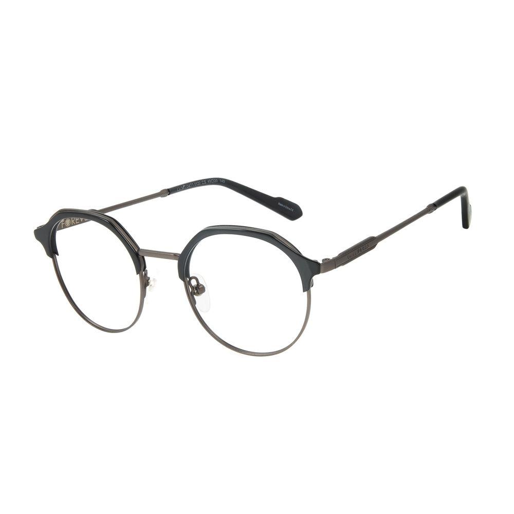 Armação Para Óculos de Grau Unissex Marvel Pantera Negra Preto LV.MT.0471-0122